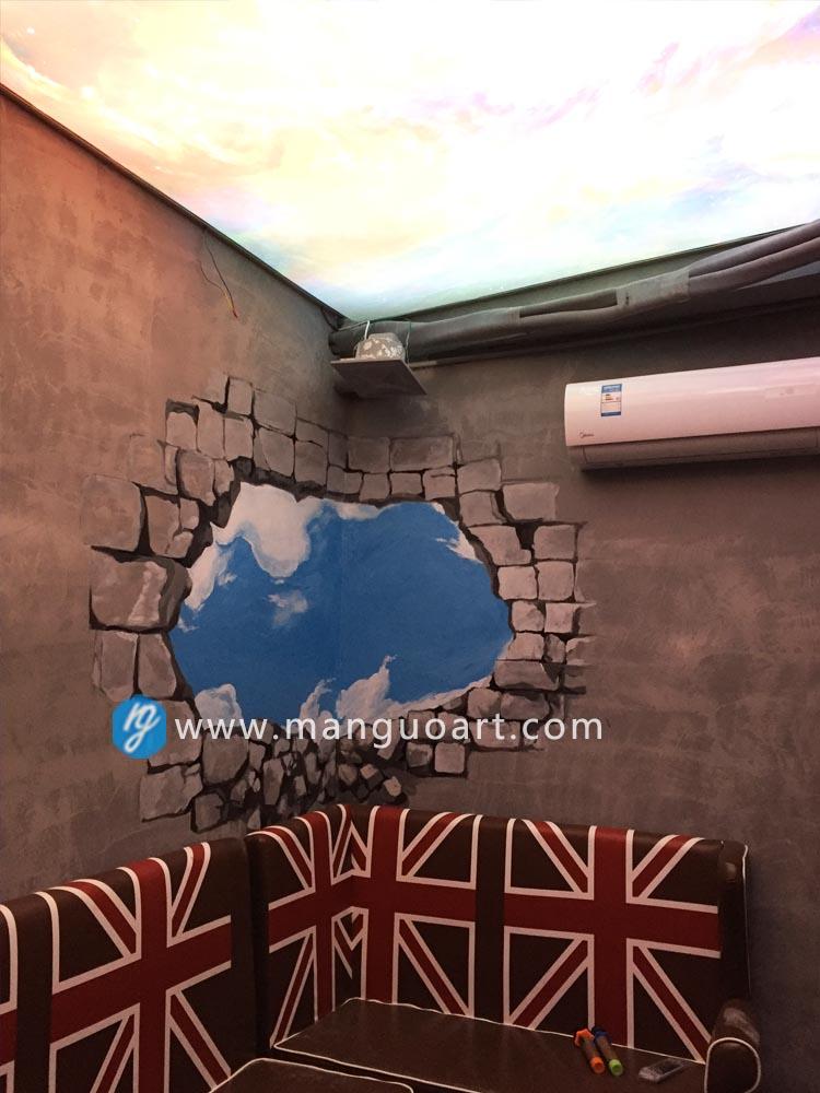 [曼果設計]是由设计品牌MG运营的专业艺术绘制设计服务平台。公司致力于墙面定制,涵盖手绘创作、插画定制、活动彩绘、3D涂鸦、手绘墙和墙绘等艺术設計创作服务。 经营项目:艺术插画、商业插画、平面设计、商业logo、海报、各种墙体彩绘、3D立体画、商业活动互动地画等