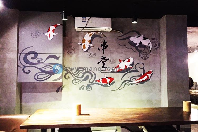 此四川口味的烧烤店,具有中国文化气息与简约工业风相结合的现代风格